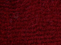 Plush Pile Dark Red