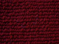Loop Pile Dark Red